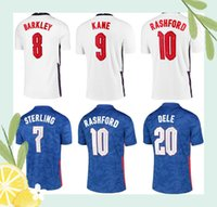 21 22 ENGLAND Angleterre maillot de foot coupe d'Europe 2020 KANE STERLING VARDY RASHFORD DELE 20 21 équipes nationales maillots de football hommes