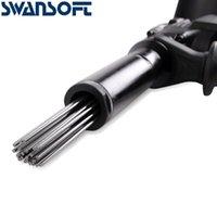 パワーツールセットTD-53E 1100W空気針の針の男芽ガン錆除去エアスケーラージェットチチ