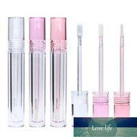Storage Bottles & Jars Round Transparent Cosmetic Packaging Bottle Clear Lip Gloss Container 5.5 ML Plastic PETG Empty Tube 10 30 50pcs