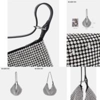 Thvwn as mulheres designer lattice preto couro novo ombro crossbody bolsas nova moda saco de rack indicador de diamante chain bolsa de ombro