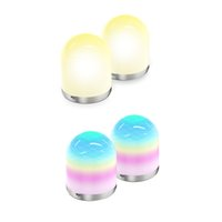 USB LED Night Light with Remote Control, Dimmable Color RGB Nights Lamp Atmosphere Lamps for Kids Bedroom, Camping Lights Kidss Baby Bedroom Gift CRESTECH
