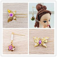 Shangmeibi Barbie jewelry ancient costume doll changing baby modified ornament hair pin