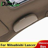 Autres accessoires d'intérieur Verres de voiture Boîte de rangement pour Mitsubishi Lancer 10 9 asx Outlander Pajerer Sport Eclipse Cross Lunettes de soleil Titulaire CAS