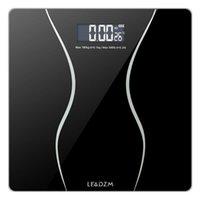 Bilancia del bagno del peso del corpo digitale con progettazione angolare rotonda, grande retroilluminazione LCD Capacità massima 180 kg