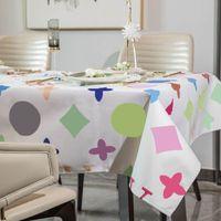 캐주얼 해바라기 패턴 인쇄 테이블 옷 커피 테이블 책상 천으로 방수 방진 식탁보 홈 장식
