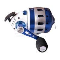 Carretel de pesca 6 + 1BB BL35 Caçando a lençóis fechados Roda de bobina de metal ao ar livre com 5 # PE linha 50m 50m