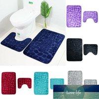 2 teile / set badezimmer toilette teppich matte rutschfeste extra mat sauggriff mit gummiunterstützung trichter copfstein bad rutschfeste teppich
