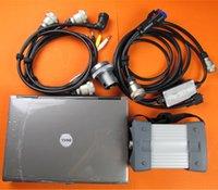 V12 / 2014 MB Star C3 Multiplexer com software Install Laptop D630 PC 4G SD Connect C3 Ferramenta de diagnóstico de carro pronto para uso