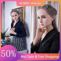 ACSMSI Yüksek Kalite Silikon Seks Bebek Tam Metal İskelet TPE Süper Gerçek 18 Seksi Büyük Eşek Aşk Lady Oyuncak