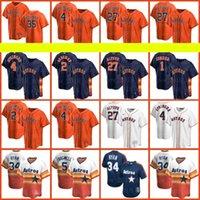2021 New Houston 27 Jose Altuve Astros 2 Alex Bregman 1 Carlos Correa Baseball 44 Yordan Alvarez Jerseys 35 Justin Verlander 5 Jeff Bagwell 4 George Springer Men