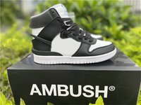 2021 Ambush S B Dunk Yüksek Açık Ayakkabı Erkek Kadın Beyaz Siyah Ladin Aura Aktif Fuşya Zapatos Spor Eğitmenleri Sneakers ile Orijinal Bo