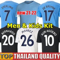 Thai 2021 City Soccer jerseys 2022 Man STERLING DE BRUYNE KU...
