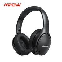 Mpow H19 IPO Bluetooth 5.0 Active Noise Cancelling Headphones Lightweight Wireless Headset CVC 8.0 Mic 30hrs Playing Fast Charge