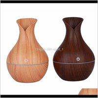 Oils Diffusers Grain Essential Aroma Oil Diffuser Ultrasonic Wood Air Humidifier Usb Mini Mist Maker Led Lights For Home Office Tool Q C7Unz
