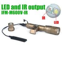 SF Taktik IFM M600V IR Avcılık Işık LED ve IR Çıkışı Beyaz Işık 400 Lümen El Feneri