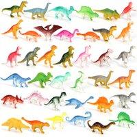 Scienza Discovery Mini Dinosauro Modello Giocattoli educativi per bambini Piccola simulazione figure animali giocattolo per bambini per ragazzi regalo