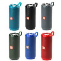 T&G TG622 Metal Portable Wireless Speakers Bluetooth Speaker Bass Column Waterproof Outdoor USB TF Subwoofer Loudspeaker