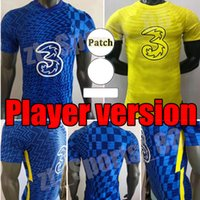 CFC Soccer Jersey Player Version Pulisic Ziyech Havertz Kante Werner Abraham Chilwell Mount Jorginho 2021 2022 Giroud Youth Football Shirt 21 22 رجلا