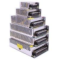 5V / 12V24V Trasformatore di illuminazione 5A 10A Alimentatore di commutazione 60W 120W 150W 200W 250W 360W Adattatore conduttore a LED da 250W per luce a led striscia