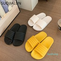 Fashion-Summer Donne Donne Slipper Thick Bottom Indoor Home Open Toe Flip Flops Bagno antiscivolo Soft Slides Sandali da spiaggia all'aperto C0313