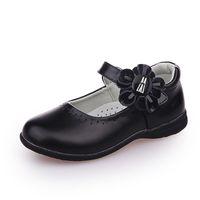 Sneakers Skoex Kids Mary Jane Dress Flats Fashion Flowers Girls Princess Shoes Pu Leather Party Wedding Children School Shoe