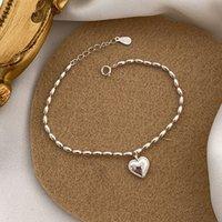 Mujeres cobre cuentas de joyería pulseras inoxidable por favor regrese a los encantos de corazón letra pulsera pulsera 1pcs gota envío