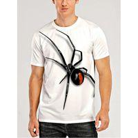 망 거리 그래픽 티셔츠 여름 패션 동물 인쇄 Tshirts 캐주얼 느슨한 사자 인쇄 티즈 청소년 개 3D 디지털 패턴 탑스
