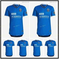 2021 2022 San Jose Earthquakes Soccer Jersey 21 22 mls # 10 Espinoza Wondolowski Gabriel B Uniform Mens # 6 Alanis Yueill Football Shirts