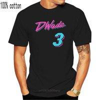 Dwyane Wade Miami Vice City T-Shirt T-Shirt colorata Tee