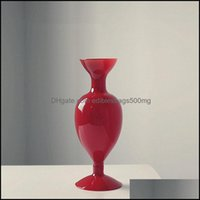 Décor & Gardenflower Vase For Home Decor Glass Terrarium Table Ornaments Nordic Vases Drop Delivery 2021 Yhkmy