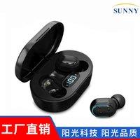 Kulaklıklar ayni al Güvenlik çelenk ile satın LED LCD dijital ekran 5.0 stereo kulak spor gürültü azaltma e7s bluetooth