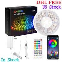 LED Strip Lights,5050 SMD LED Color Changing Tape Light with 44 Key Remote and 12V UL   ETL certified Power Supply, for Bedroom, Home Decoration, TV Backlight, Kitchen, Bar