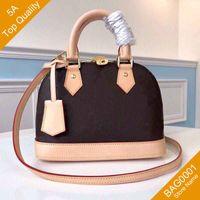 5a qualidade de alta qualidade fashion moda ombro alma bb shell bolsa flor bolsa clássico material de lona compra com caixa b001 (53152.41221) bag0001