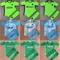 Kit Adulto 2021 2022 MLS Inter Futebol Jersey Set 21/22 Los Angeles Atlanta Miami Galáxia Orlando Austin Classic Sports Golekeeper Camisa de futebol