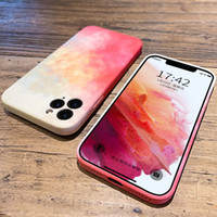 WIth LOGO Retail Box Oil Paintting Silicone Phone Cases For iPhone 13 Pro Max 12pro 11pro Xr Xs X 8 7 6s Plus Lens Upgrade Scratchproof Fallproof Cover