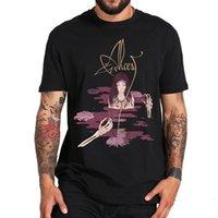 Футболки ALCEST футболка альбом Kodama романтическая футболка черная металлическая полоса печатает топы Homme мягкий повседневный размер EU 100% Kateen Tee рубашка