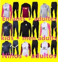 kids + mens soccer tracksuit chandal futbol survetement foot jerseys 2021 2022 Trainers Adult football jersey training wear jacket 6666