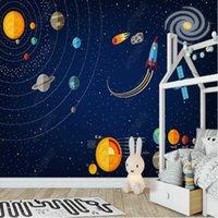 Wallpapers Milofi 3D Custom Wallpaper Space Universe Children's Room Background Wall Mural