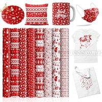 Window Stickers Lucky Goddness Cricut 8 Pcs 12*12 IN Christmas Pattern Sublimation Paper Joy Suitable For T-shirt Infusible Transfer Ink