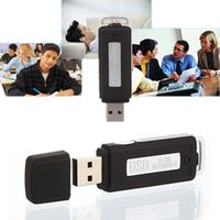 Цифровой голосовой рекордер Мини 8 ГБ USB-дисковый ручка флэш-накопитель AUDIO 150 HRS Запись U RAMIC