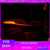 3/5 시리즈 앰프 램프 LED 모델링 자동차 라이트 네온 인테리어 쥬얼리 액세서리 Interiorexternal Lights