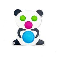 Fidget lovely panda push pop bubble decompression educational intelligence novelty toys for children