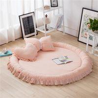 Teppiche Baby Crawl MAT Game NAP PO Requisiten Hausschlafzimmer Waschbar