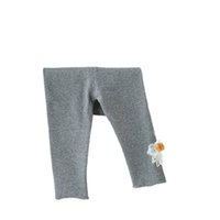 Girls Leggings Baby Pants Kids Tights Toddler Clothes Infant Clothing Spring Autumn Cotton Princess Newborn Trousers Wear 0-3T Flower B8647