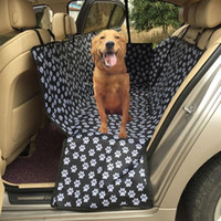Dog Cat Car Mat Est Oxford Waterproof Pet Seat Cover Mats Rear Back Travel Protector With Safe Belt Hammock Cushion Kennels & Pens