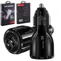 موانئ USB المزدوجة 2.4A ريال led ضوء شحن سيارة محول آيفون سامسونج htc الروبوت الهاتف gps mp3
