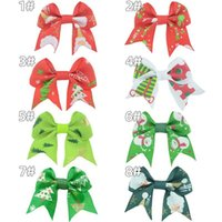 Kids Children Bow Barrettes Hairpin Baby Girls Handmade Hair Clip Accessories For Christmas Day