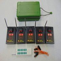 10 Cues Fireworks System System System Fournitures en vente sur la vente Émetteurs spéciaux Machine d'effets spéciaux avec interrupteur sans fil à l'eau distant sans fil sans fil