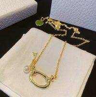 Mode Edelstahl Buchstaben Anhänger Halsketten Kette Halskette Choker Halsketten Für Dame Frauen Liebhaber Geschenk Hip Hop Schmuck mit Box