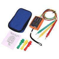 SM852B 3 фазовый тестер вращения Цифровой фазовый индикатор светодиодный зуммер Fasevolgorde измерительный тестер напряжения 60V ~ 600V AC